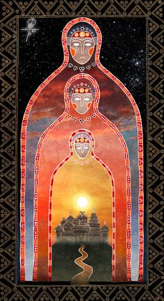 Perun and Veles - the two major gods of the Proto-Slavic pantheon. Pagan Art, Witch Art, Indigenous Art, Visionary Art, Russian Art, Conte, Occult, Traditional Art, Art Images