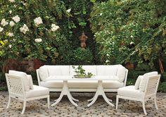 McKinnon & Harris outdoor furniture - sofa, table & armchairs