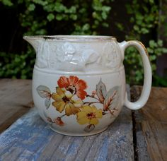 Vintage milk jug  staffordshire lord  nelson ware Elijah cotton LTD