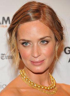 Emily Blunt   fresh face makeup