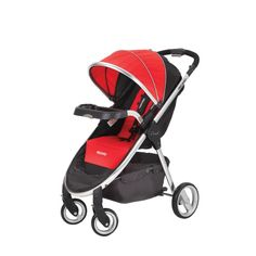 The RECARO Performance Denali Stroller offers high-performance comfort and style. Featuring temperature-balance woven seating, the RECARO Denali's fabric is soft on your child's skin. In addition, it comes with a breathable, UV SPF 50+ canopy with a water-repellent coating to protect little ones from the elements.