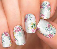 Spring Nail Art | Nail Polish Strips by Incoco | Garden Path - Incoco