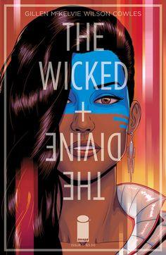 Wicked + The Divine #005 - Cover by Jamie McKelvie + Matt Wilson ----