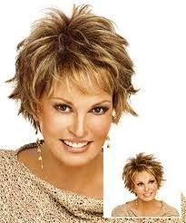 Short shag hair cut... I love this style, but wonder how hard it would be to care for.