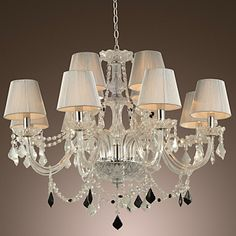 12-light The style of palace Glass Chandelier http://ltpi.co.nf/?item=218379