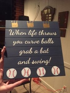 DIY Baseball Decor Lets Get Together For Your Very Own Paint It