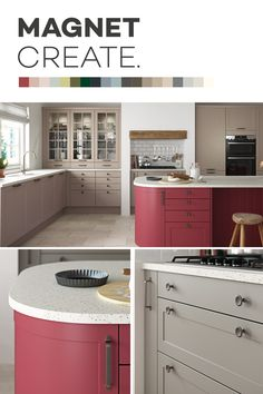 Introducing Magnet Create - 20 new kitchen colours you can't just see, you can feel. Diy Kitchen Cabinets, Diy Kitchen Cabinets Build, Kitchen Cabinets, Kitchen Decor, Kitchen Design Diy, Diy Kitchen Backsplash, Home Kitchens, Diy Kitchen, Kitchen Design