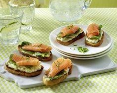 Das Rezept für Lachs-Meerrettich-Häppchen und weitere kostenlose Rezepte auf LECKER.de