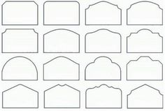 Headboards shapes