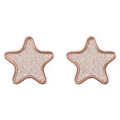 SPECIAL DAYS! Fino al 31 agosto -10% sui gioielli Boccadamo in vendita online sul nostro shop. APPROFITTANE SUBITO!  ☆☆☆ Orecchini lobo a forma di stella glitterara in bronzo by Boccadamo