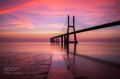 Good Morning Lisbon (Ricardo Mateus / Lisbon / Portugal) #NIKON D800 #landscape #photo #nature