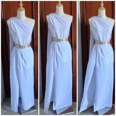 New Snap Shots easy sewing fashion Strategies 39 Last Minute DIY Halloween Costumes To Petrify and Please Toga Costume Diy, Diy Toga, Toga Party Costumes, Retro Costume, Costume Ideas, Toga Dress, Diy Dress, Dress Up, Athena Costume