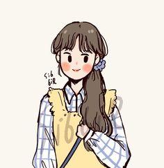 ซิบบิล🐭 (@Sibbil_) / Twitter Cartoon Art Styles, Cute Art Styles, Girly Drawings, Cartoon Drawings, Cute Illustration, Character Illustration, Character Drawing, Character Design, Cat Character