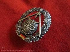 BW Barettabzeichen, Topographie, Metall / mehr Infos auf: www.Guntia-Militaria-Shop.de