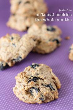 No'tmeal + Raisin Cookies - paleo - grain free - the whole smiths