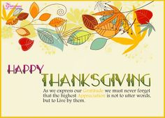 Poetry: Thanksgiving Day 2013 FB Wallpapers and Cards With Quotes
