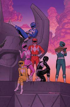 Mighty Morphin Power Rangers •Joe Quinones