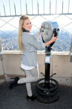 Olivia Holt - Empire State Building Photoshoot