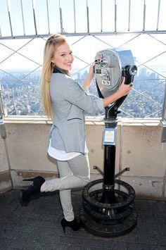 Olivia Holt - Empire State Building Photoshoot