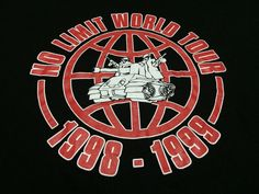 Rare Vintage 90's NO LIMIT RECORDS World by worldfamous90store