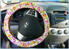 weasinart: Stitchy Saturday: Steering Wheel Cover