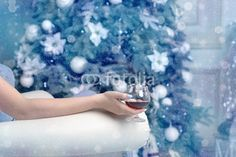 Photo: Woman sitting in a chair with a glass of cognac Stock Photos, Woman, Chair, Glass, Outdoor, Image, Outdoors, Drinkware, Corning Glass