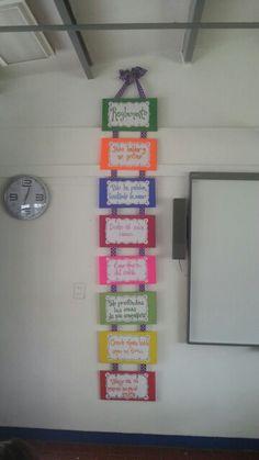 Classroom Rules, Spanish Classroom, School Classroom, Classroom Activities, School Teacher, Classroom Decor, All About Me Preschool, Grammar Games, Birthday Charts