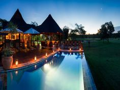 Kruger National Park Nkorho Bush Lodge South Africa, Africa Nkorho Bush Lodge is conveniently located in the popular Kruger National Park area. The hotel offers a wide range of amenities and perks to ensure you have a great time. Luggage storage, Wi-Fi in public areas, car park, business center, babysitting are there for guest's enjoyment. Non smoking rooms, wake-up service, desk, mini bar, balcony/terrace can be found in selected guestrooms. Access to the hotel's outdoor pool...