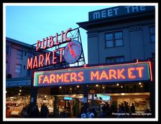 Pike Place Market in Seattle :) The 'fish guys' are amazing!