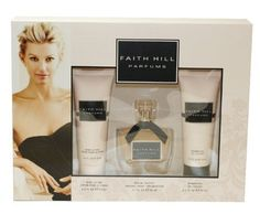 Faith Hill Parfums Gift Set for Women (Eau De Toilette Spray, Lotion, Shower Gel) by Faith Hill. Save 23 Off!. $34.64. All our fragrances are 100% originals by their original designers. We do not sell any knockoffs or immitations.. 3 Pc. Gift Set ( Eau De Toilette Spray 1.7 Oz + Body Lotion 2.5 Oz + Shower Gel 2.5 Oz ) for Women. Faith Hill Parfums Perfume for Women 3 Pc. Gift Set ( Eau De Toilette Spray 1.7 Oz + Body Lotion 2.5 Oz + Shower Gel 2.5 Oz ). We offer many great s...