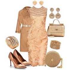 """orangerose"" by gaitriesharda on Polyvore"