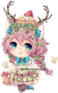 Image via We Heart It https://weheartit.com/entry/148028048 #anime #chibi #cute #kawaii