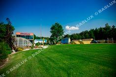 Baslux Baseny Siediba Firmy / Baslux Pool Company Pool Companies, Baseball Field, Pools, Transportation, Garden, Garten, Lawn And Garden, Gardens, Gardening