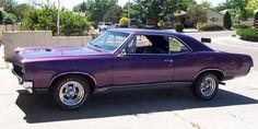 This is my Dream Car! Purple 67 GTO