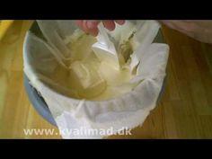 ▶ Hjemmelavet græsk yoghurt - YouTube