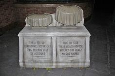 Macabre Headstone Photo Opportunity at Disney's Haunted Mansion
