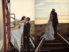 Beautiful Wedding Train