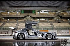 Mercedes SLS AMG GT3. Driven. Yas Marina. UAE | Crank and Piston Car Culture Lifestyle Community