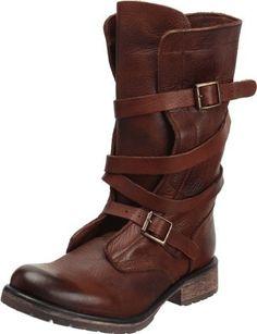Steve Madden Women's Banddit Boot,Brown Leather, Steve Madden,
