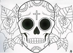 The 28 Best Sugar Skull Simple Tattoo Images On Pinterest Sugar