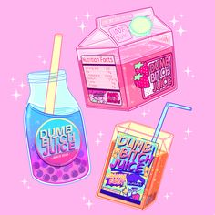 """""""✨ Dumb B***H Juice ✨ Strawberry, orange, and mystery flavor"""""""