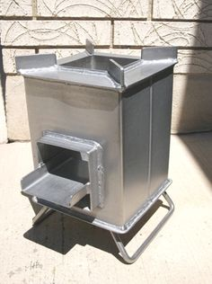Buy a Stainless Steel Grover Rocket Stove