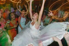 """""""Nossas expectativas eram enormes e graças a Deus foram superadas"""", finaliza a noiva, Mariah Wiederhold."""