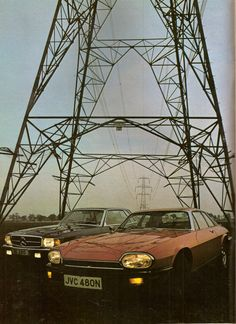 1975 Mercedes-Benz 450 SLC & Jaguar XJ-S V12