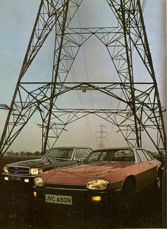 1975 Mercedes-Benz 450 SLC & Jaguar XJ-S V12