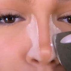 Nose Makeup, Contour Makeup, Simple Makeup, Natural Makeup, Nose Contouring, Eyebrow Tutorial, Foto Pose, Makeup Videos, Beauty Make Up