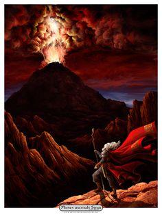 Biblical Art by Artist Xero, via Behance