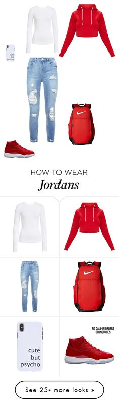 """Untitled #287"" by hishappiness on Polyvore featuring BP. and NIKE"