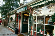 Christmas in Smithville, NJ.  (Christmas Shoppe is open all year long).
