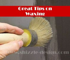 Great Tips for Waxing Painted Furniture